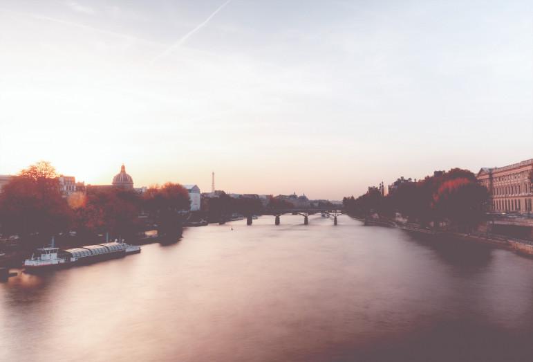 Pont des Arts - Paris - Courbet