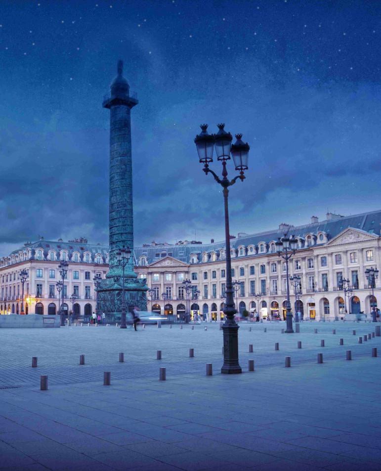 Courbet place Vendôme