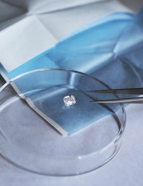 Diamant de synthèse - Courbet - Courbet