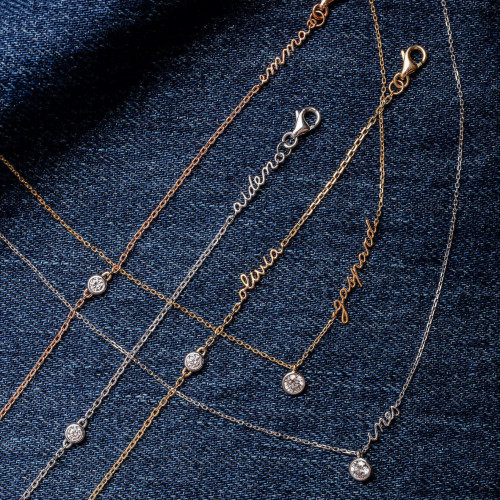 Colliers et Bracelets Origine VLP or recyclé 18K et diamants de synthèse- Courbet