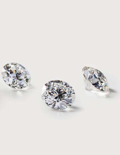 Diamant synthétique taille poire