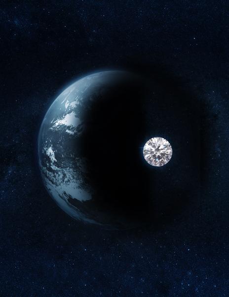 Diamant synthétique - terre