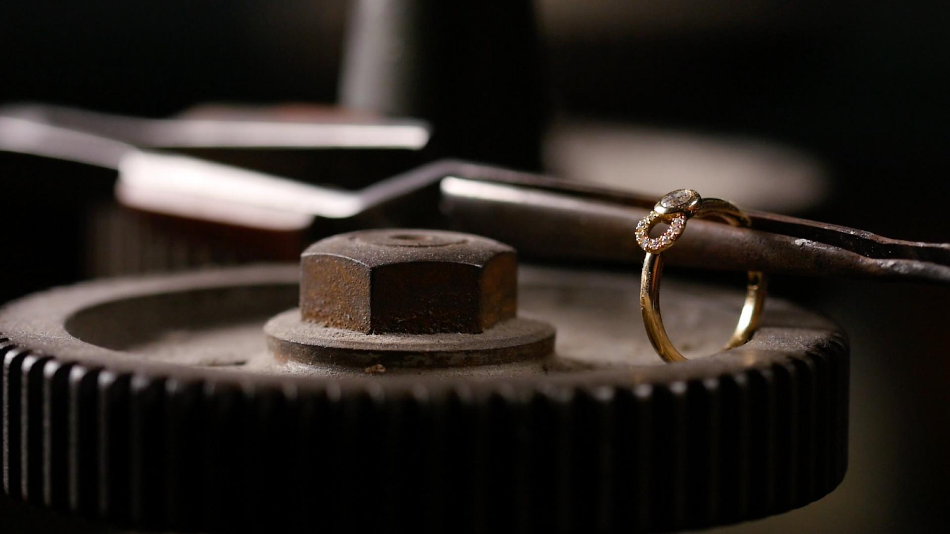 Courbet diamant de synthèse joaillerie durable collection Co