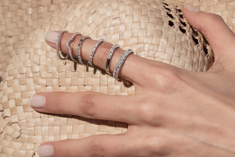 Alliances en or recyclé 18K et diamants de synthèse Made in France - Courbet