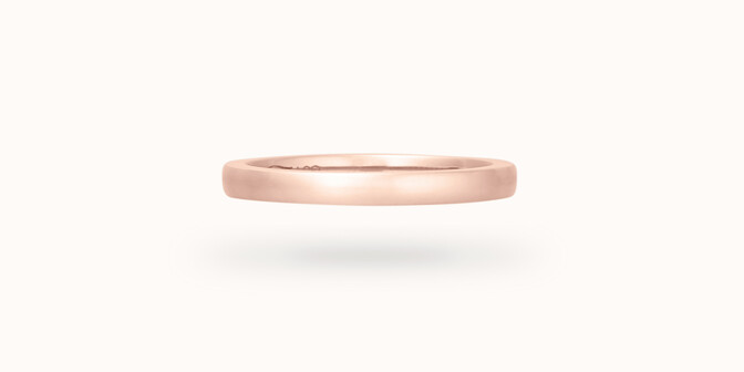 Alliance (2,3 mm) - Or rose 18K (3,50 g)
