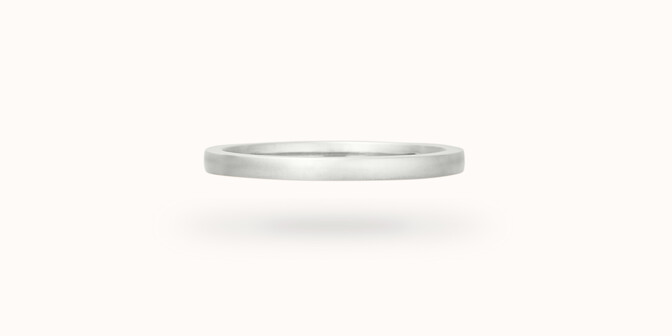 Alliance (1,8 mm) - Or blanc 18K (2,00 g)