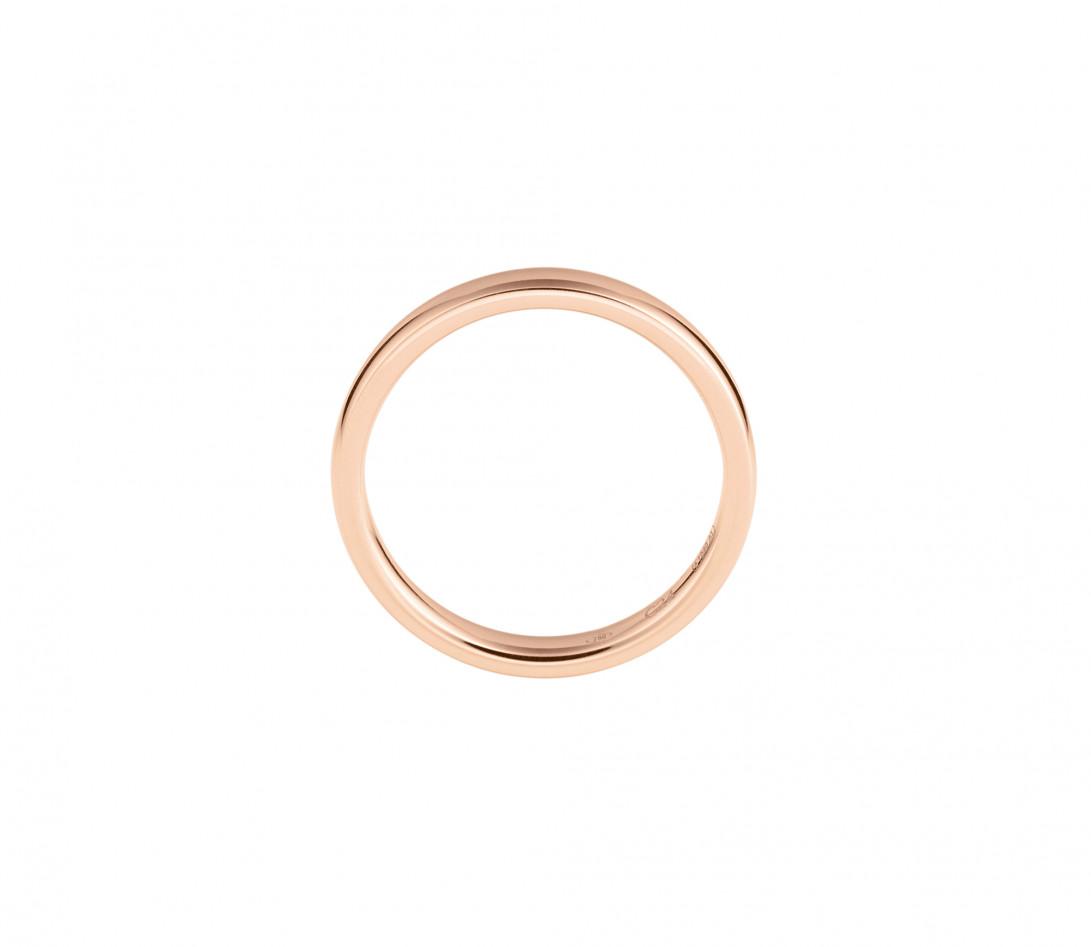 Alliance (3 mm) - Or rose 18K (4,20 g) - Prodfil