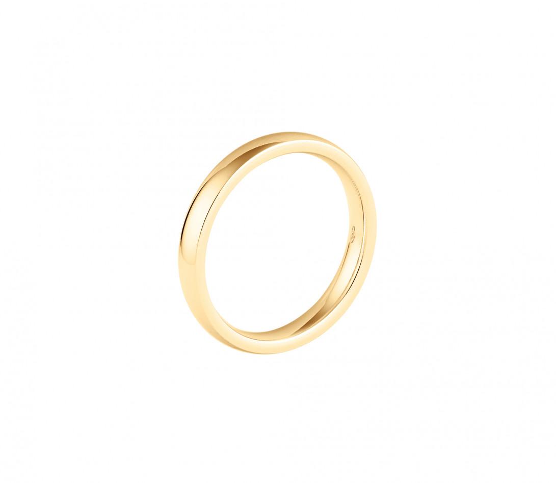 Alliance (3 mm) - Or jaune 18K (4,20 g) - Profil