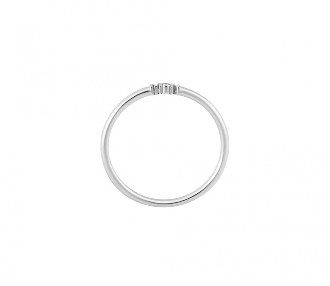 Alliance (1,4 mm) - Or blanc 18K (3,50 g) - Coté 1