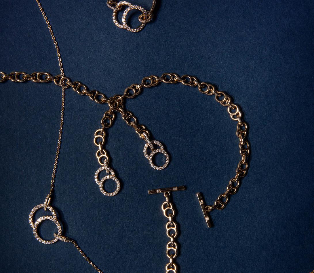 Collier Or Blanc et Diamants de synthèse 0,4 ct - Celeste - Vue 5
