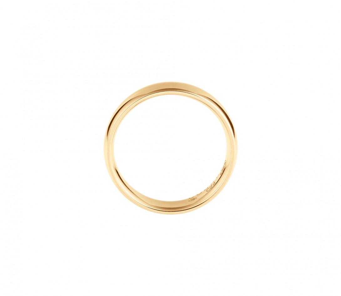 Alliance (5 mm) - Or jaune 18K (6,70 g) - Côté